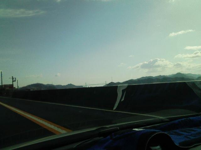 松山に向けて